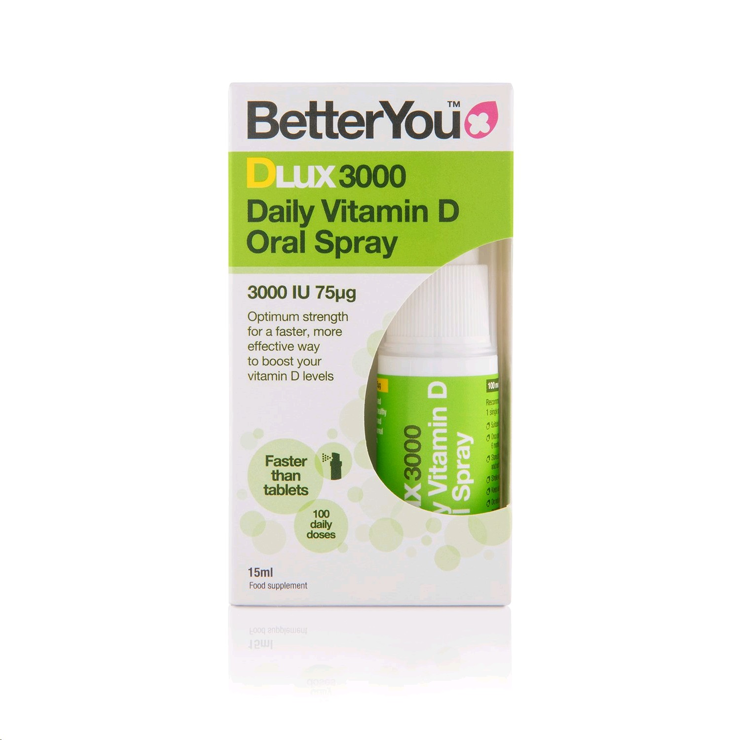BETTERYOU DLUX VITAMINA D3 SPRAY 15ML
