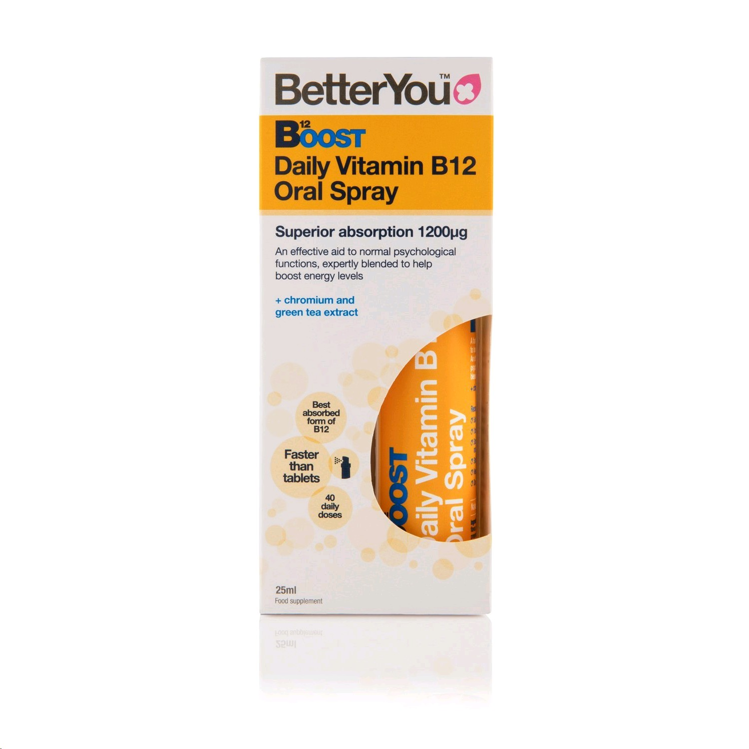 BETTERYOU VITAMINA B12 BOOST SPRAY 15ML